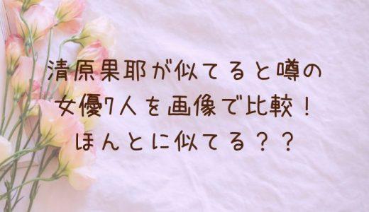清原果耶が似てる女優7人を画像比較!芦田愛菜や川口春奈にそっくり?
